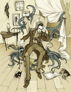 AH_P__Lovecraft_by_MirrorCradle