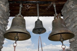 13015008-Group-of-iron-bells-inside-a-Romanian-orthodox-monastery-Stock-Photo