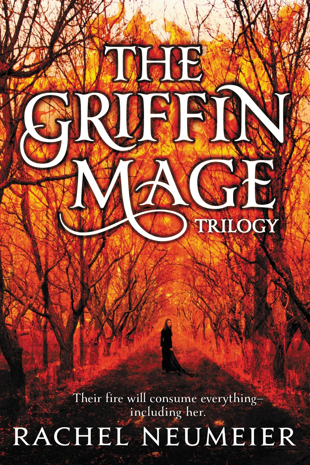 The Griffin Mage Trilogy by Rachel Neumeier title=